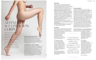 Focus sur le « La liposculpture » dans l'Officiel spécial Chirurgie Esthétique
